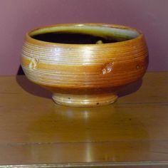 Salt Glaze Pot by John Jeff of the Cotswold Pottery
