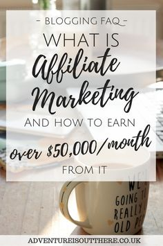 What is affiliate marketing for bloggers? Here's how you can earn over £50,000 per month from affiliate links!