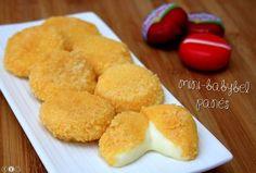 Des mini babybel panés ! Une recette ultra simple et rapide qui fera fondre de plaisir les petits et les grands !