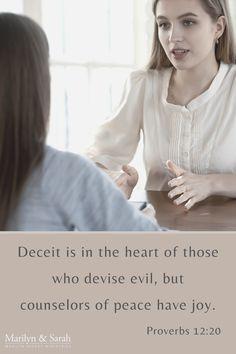 Proverbs Verses, Proverbs 12, Motivational Scriptures, Deceit, Women, Motto, Woman