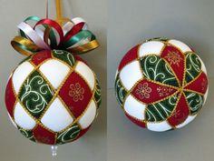 Ornamento de Navidad DIY Tutorial PDF Argyle por OrnamentDesigns