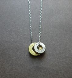 awesome bullet casing top necklace by cravejewelrydesign on Etsy, $35.00