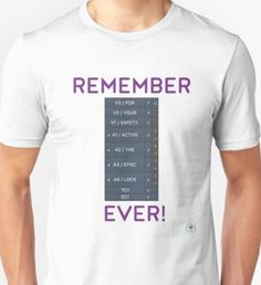 Active the Sync Lock...ever! Unisex T-Shirt