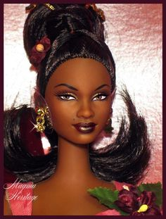 African-American Exotic Intrigue Barbie doll