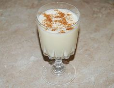 The easiest eggnog recipe.  Wish I would have used this one so I wouldn't have made scrambled egg nog! :)