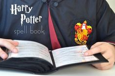 As many of you know from Halloween, my kids are obsessed with Harry Potter…still.  What is better than little kids yelling out funny sounding spells that make no sense, and aren't even pronounced c…