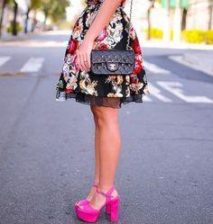 SANDÁLIA SALTO BLOCO: 30 Looks incríveis!