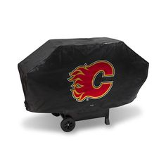 Calgary Flames NHL Deluxe Barbeque Grill Cover