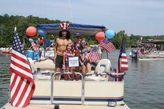 Happy Birthday USA! 4th Annual Lake Wedowee Fourth of July Boat Parade ~ Lake Wedowee Life Magazine
