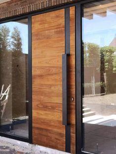 New Ideas For Restaurant Door Design Entrance House Front Door Entrance, House Front Door, House Doors, Front Entrances, House Entrance, Modern Entrance Door, Entrance Ideas, Entry Doors, Sliding Doors