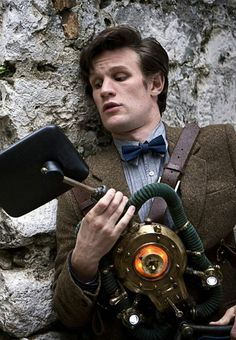 Why is it that Matt looks so adorable when he's awkward? First Doctor, Eleventh Doctor, Doctor Who, Dr Who 11, Don't Blink, Matt Smith, David Tennant, The Girl Who, Tardis