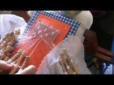 Bolilos: Como hacer araña ovalada, abierta o pececito - YouTube