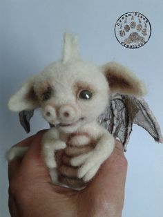 One of a kind baby dragon. #dragon #fantasy #needlefelting #handmade #art #baby #ooak #polandhandmade