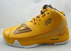PEAK Grant Hill Basketball Shoes, Gym, Yellow, Sneakers, Fashion, Basketball Sneakers, Trainers, Moda, Women's Sneakers