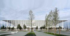 herzog & de meuron nouveau stade de bordeaux stadium france designboom