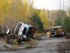 Chernobyl abandoned and in ruins. #Revolution