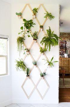 Вертикальные сады в интерьере. ТОП 50