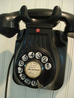 Cool old wall phone