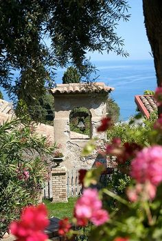 Belfry in the villa garden - Taormina, Sicily