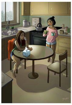 Minha vida em desenhos! As ilustrações lindas da Yaoyao Ma Van » Dalila em Fúria