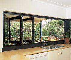 Bi-Fold Windows- kitchen?
