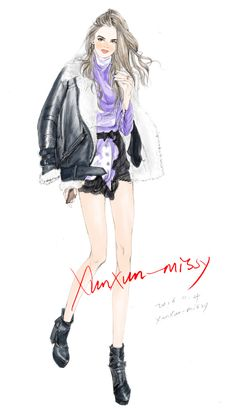Xunxun-missy Weibo microblogging _