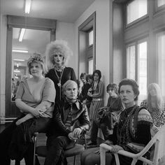 Andy Warhol and members of the Factory, New York, 1969 photo: Cecil Beaton