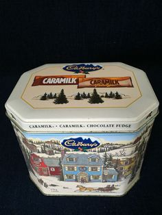 Cadbury's Caramilk Fudge Collectible Tin