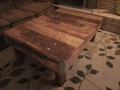"Awesome ""Restoration Hardware"" knock-off coffee table. I like this more than the ""real-deal"" !!!"