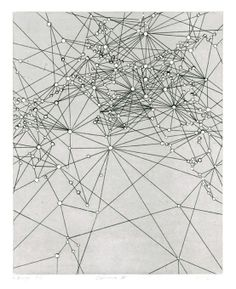 VICTORIA BURGE - Lacuna II (2013) [etching with embossment]
