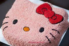 #Hello_Kitty cake