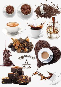 coffee, Creative Coffee, Heart-shaped Coffee PNG and PSD Coffee Png, Coffee Vector, Coffee Cafe, Food Logo Design, Logo Food, Chalkboard Art Kitchen, Soccer Crafts, Coffee Shop Logo, Best Beans