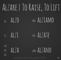 The Italian language, similar to other foreign languages one is estranged to can be learned. This isn't saying though that learning can be easy but it isn't difficult too. Italian Verbs, Italian Grammar, Italian Vocabulary, Italian Phrases, Italian Language, German Language, Japanese Language, Italian Quotes, Italian Lessons