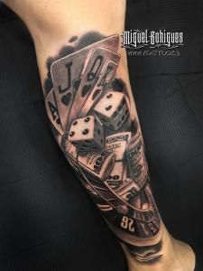 Poker - Miguel Bohigues - Vtattoo