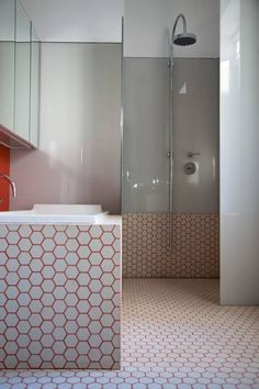 Updating Tiles With Coloured Grout Grout Loft Bathroom And