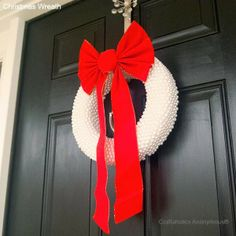 Simply pretty Christmas wreath