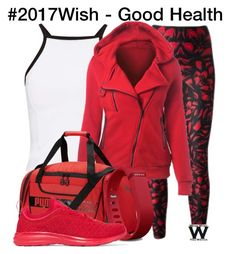 """#2017Wish"" by wearwhatyouwatch ❤ liked on Polyvore featuring Alexander McQueen, Miss Selfridge, Puma, Fitbit and Athletic Propulsion Labs"