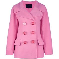 MARC JACOBS Peacoat ($2,370) ❤ liked on Polyvore