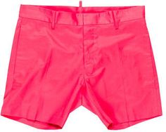Dsquared2 Woven Flat Front Shorts