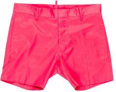 Dsquared2 Woven Flat Front Shorts Dsquared2, Casual Shorts, Flats, Stitch, Stylish, Swimwear, Men, Tops, Fashion