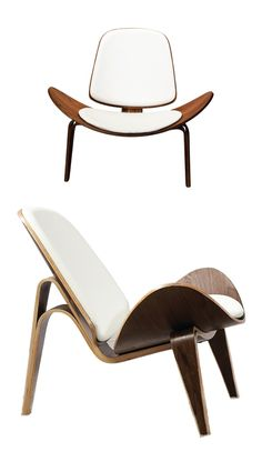 A Perfect Accent Chair For Lounging, The Unique Shape Is Both Comfortable  And Beautiful To ...
