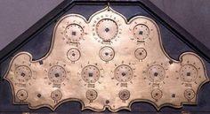 The calculating machine (Ciclografo) of Tito Livio Burattini from 1658 (© Museo Galileo, Firenze)