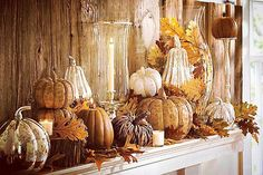 Time to give thanks  #happythanksgiving #thanksgiving #pumpkins #decor #fall #falldecor #autumn #november by halloween_decor_ #halloween #halloweenideas #halloweendecor #halloweenfun