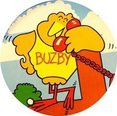 Loved Buzby and pals sitting on the telephone wires. Those Were The Days, The Good Old Days, Best Memories, Childhood Memories, Old Sweets, 1980s Childhood, My Generation, Teenage Years, Married Life