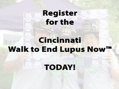 It's almost time for the Cincinnati Walk to End Lupus Now! Register today: http://www.lupus.org/ohio/events/entry/cincinnati-walk-to-end-lupus-now
