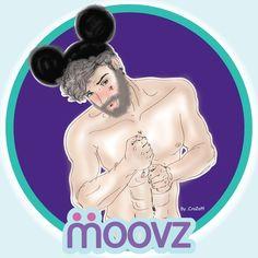 Ser uno Mismo, nunca fue tan divertido!!!! :)  Moovz. 2015!!  Fan Art  Ilustración realizada para el Blog de Salvador Núñez.  http://salvadornuñez.com/gay-lgbt/moovz-2/ser-nosotros-mismos-nunca-fue-tan-divertido/