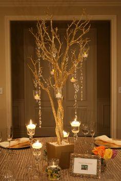 Tree Decorations for Weddings | Manzanita Tree | Wedding Ideas