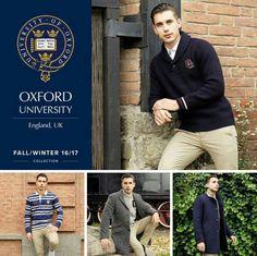 Oxford University, tradición, diseño y calidad en una misma marca