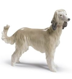 LLADRO NEW - AFGHAN HOUND - Issue Year: 2015  Sculptor: Fulgencio García