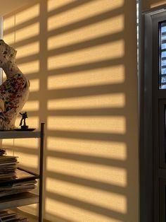 Sun Blinds, Golden Hour, Nudes, Shadows, Sunshine, Beige, Sunset, Wallpaper, Vintage